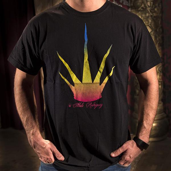 camiseta negra Mala Rodríguez