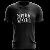 Camiseta Natos y Waor negra de Natos y Waor