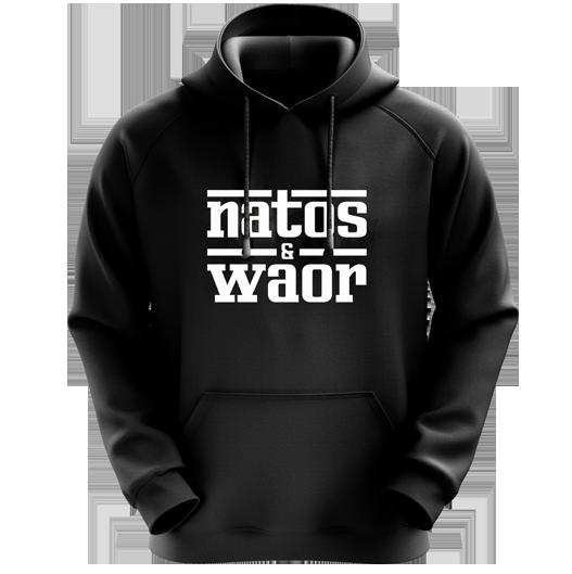 sudadera Natos y Waor Ferrari negra