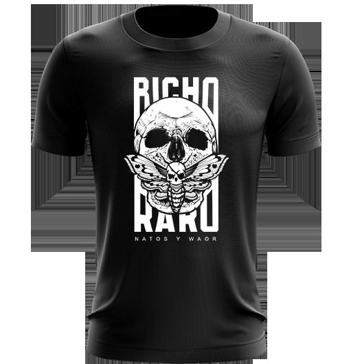 camiseta Bicho Raro negra de Natos y Waor