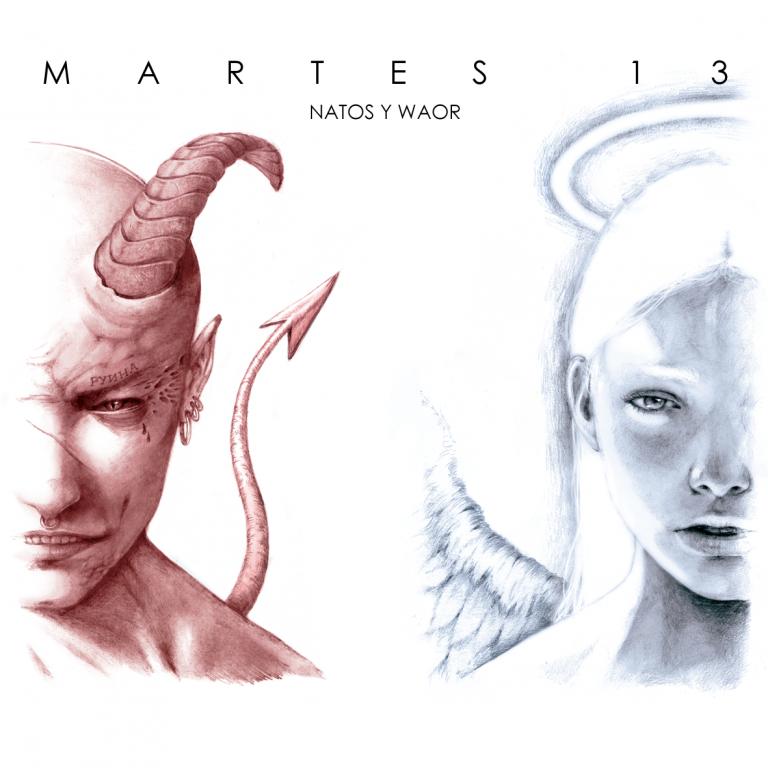 álbum Martes 13 de Natos y Waor.