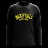 sudadera RockNRolla amarillo/negra de Natos y Waor