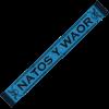 bufanda Natos y Waor azul
