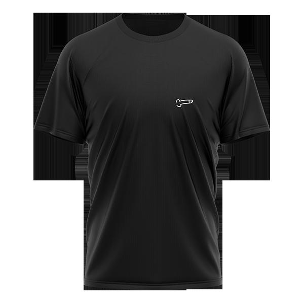Camiseta 8=D negra de Bejo