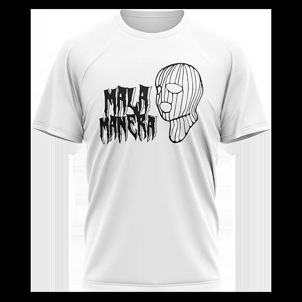 camiseta pasamontañas blanca de Fernando Costa