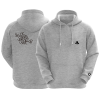 sudadera LC2L gris sport front back
