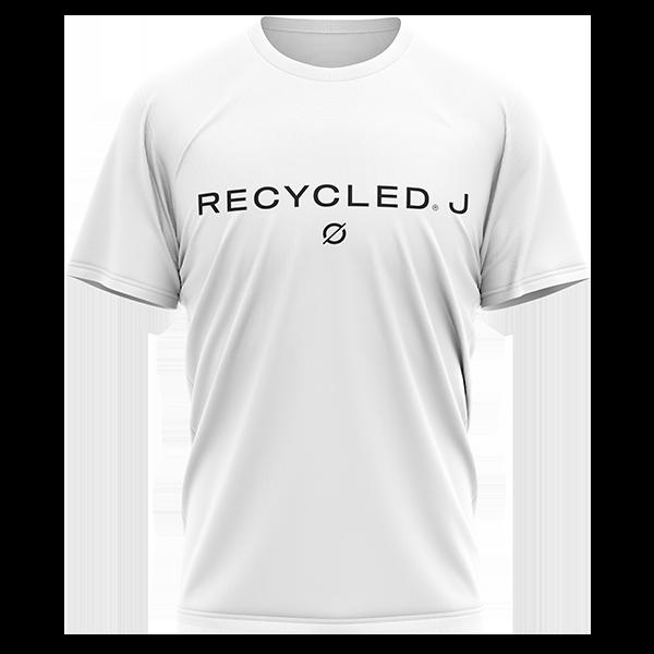 camiseta básica blanca de Recycled J