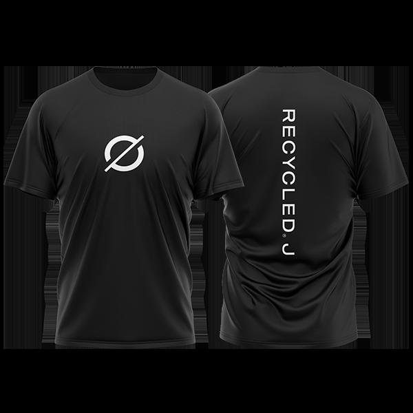 Camiseta básica negra de Recycled J