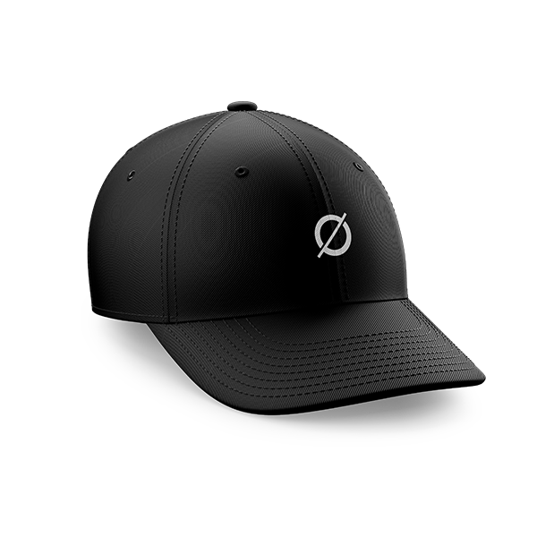 gorra negra Recycled J
