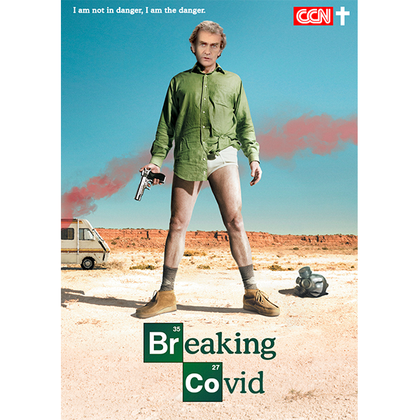Poster Cecinews Breaking Covid