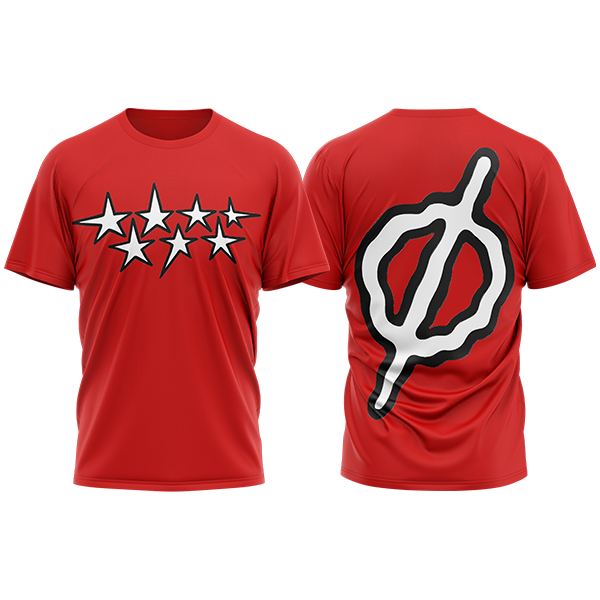 camiseta siete estrellas de Recycled J