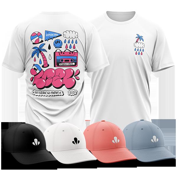 Pack Camiseta Pompa Summer + Gorra LC2L