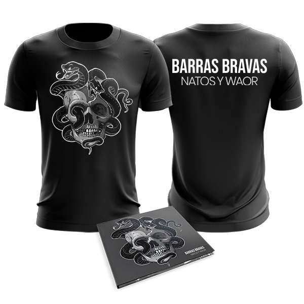 PACK BARRAS BRAVAS CD + CAMISETA
