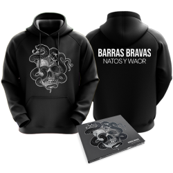 PACK BARRAS BRAVAS CD + SUDADERA