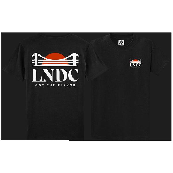 camiseta Las Ninyas del Corro Logo negra