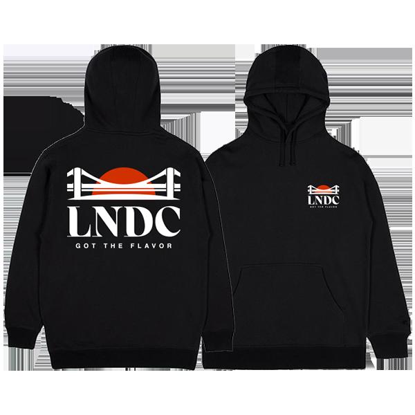 sudadera Las Ninyas del Corro logo negra